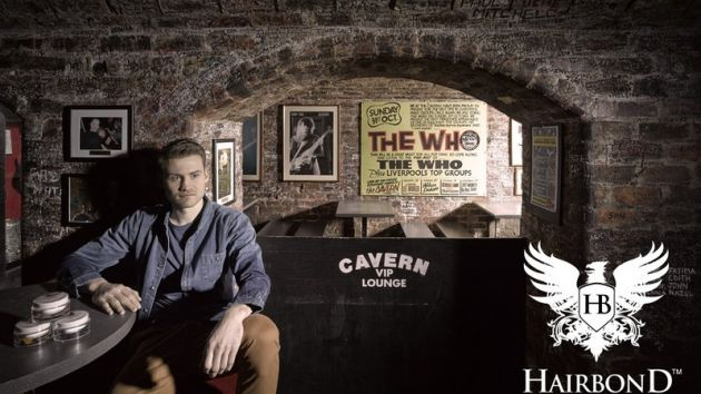 Simon Mignolet Hairbond photoshoot