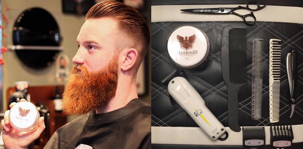 hairbond gripper pomade barbershop
